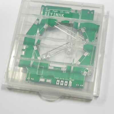 PWM speed control repair/upgrade PCB for Laing 10-18W DDC pump w/LED SMD soldered MCP355