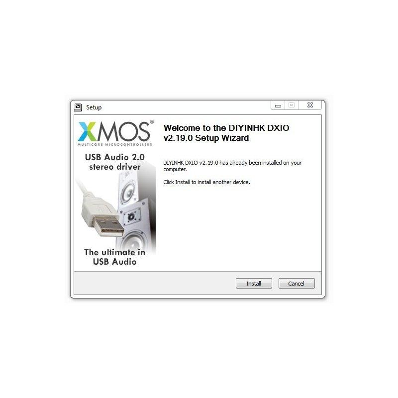 DIYINHK DXIO Stereo USB Audio Driver v2.19