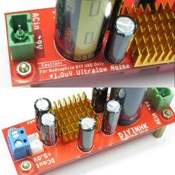 1.0uV Ultralow noise DAC power supply regulator 3.3V 5.0V 800mA