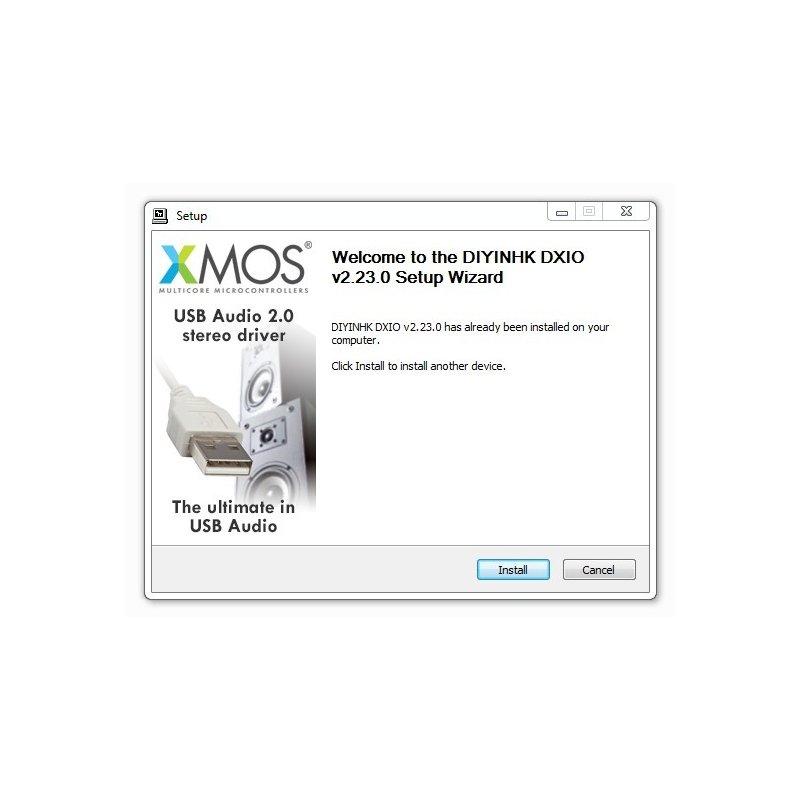 DIYINHK DXIO Stereo USB Audio Driver v2.23 [Free]