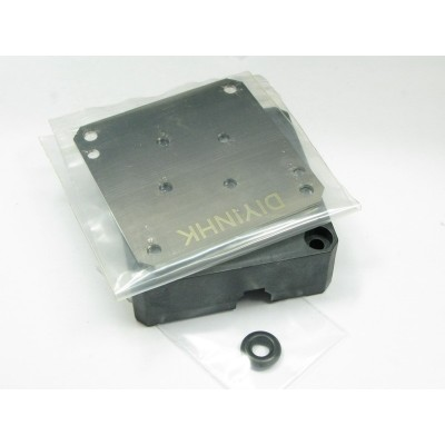 Laing DDC water pump stainless steel bottom plate for Apple G4 pump mod