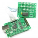 Isolated XMOS DSD DXD 384kHz high-quality USB to I2S/DSD PCB with ultralow noise regulator