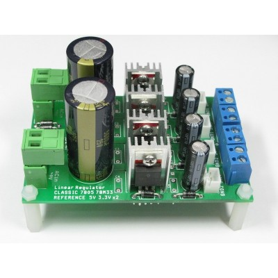 Classic Reference 78xx power supply linear regulator 3.3V 5V +-12V