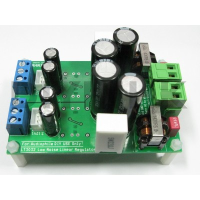 LT3032 Low noise DAC power supply linear regulator Dual +-12V 150mAx2
