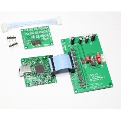 AD1865 R2R Isolated nonoversampling NOS Audio DAC with FIFO reclock