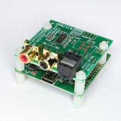 ES9023 192kHz I2S DAC, XMOS USB input, 4uV Low Noise Regulator