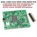 Isolated XMOS 384kHz DXD DSD256 high-quality USB to I2S/DSD/SPDIF PCB