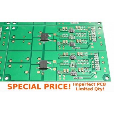 0.56uV Ultralow noise DAC power supply regulator 3.3/5/7V 2A*x2 PCB only