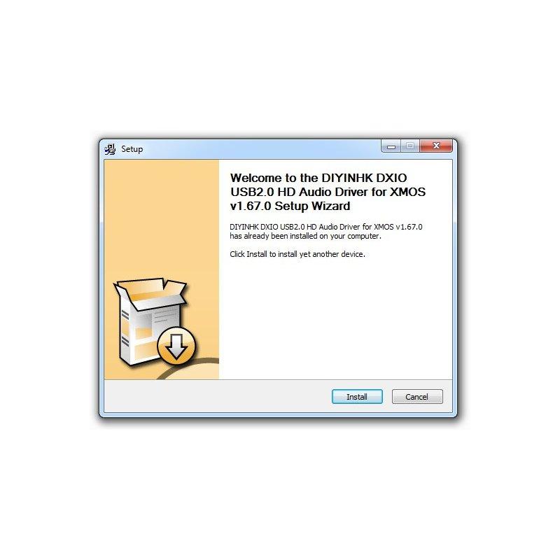 DIYINHK DXIO USB Audio Driver v1.67