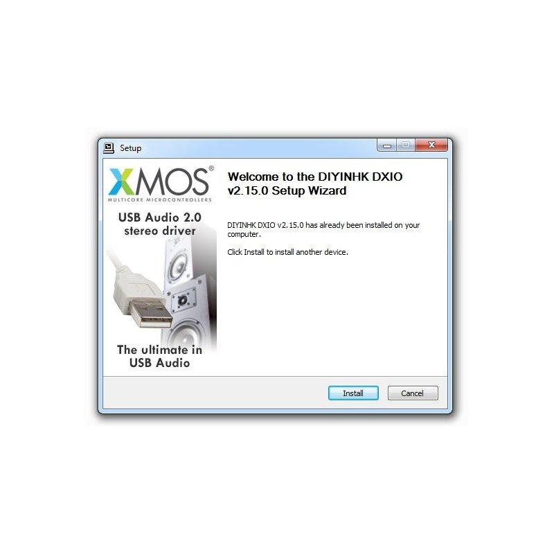 DIYINHK DXIO Stereo USB Audio Driver v2.15