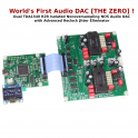 [THE ZERO] DAC TDA1540 R2R nonoversampling NOS Audio with FIFO reclock