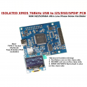 Isolated XMOS 768kHz DXD DSD512(DSD1024) high-quality USB to I2S/DSD PCB Type-C
