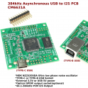 384kHz Asynchronous USB to I2S/SPDIF CM6631A PCB